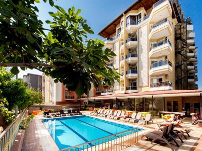 Kleopatra Ada Beach  Hotel Resim Galerisi